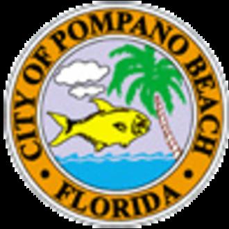 Pompano Beach, Florida - Image: Seal of Pompano Beach, Florida