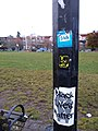 Seattle- Cal Anderson Park- Black Panther sticker.jpg