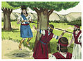 Second Book of Samuel Chapter 18-2 (Bible Illustrations by Sweet Media).jpg