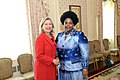 Secretary Clinton Shakes Hands With South African Foreign Minister Mashabane (5016792360).jpg