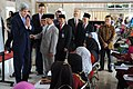 Secretary Kerry Bids Farewell to Female Students at Istiqlal Mosque (12555993344).jpg