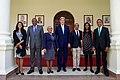 Secretary Kerry Poses for a Photo With the Family of Kenyan President Uhuru Kenyatta at the State House in Nairobi (28865650900).jpg