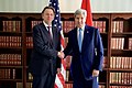 Secretary Kerry Shakes Hands With Dutch Foreign Minister Koenders Before Bilateral Meeting on Sidelines of Munich Security Conference in Germany (24971630606).jpg
