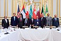 Secretary Kerry Stands With Members of Gulf Coorperation Council Before Multilateral Meeting in Paris (17238198609).jpg