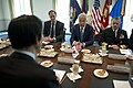 Secretary of Defense Chuck Hagel meets with Republic of Korea Foreign Minister, Yun Byung-se, at the Pentagon, April 3, 2013 (Pic 3).jpg