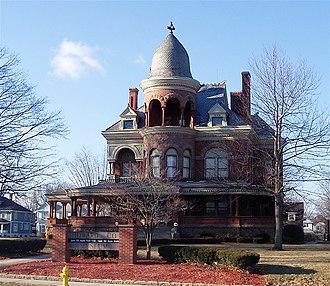 Old Silk Stocking Neighborhood - Seiberling Mansion