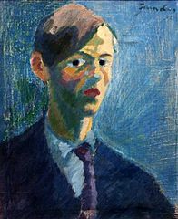 Self portrait blue Ivan Lönnberg.jpg