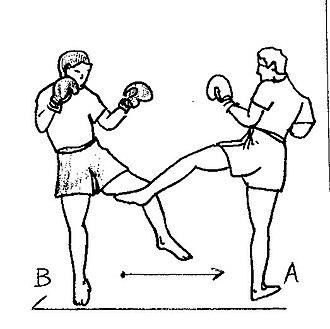 Low kick - Image: Semi 2