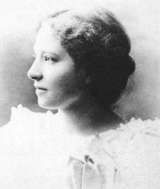 Senda Berenson Abbott - Senda Berenson in 1888