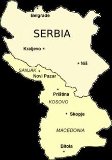 karta stare srbije Stara Srbija   Wikipedia karta stare srbije