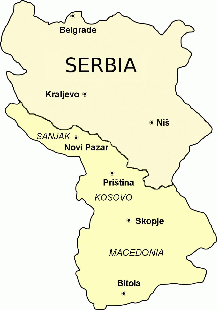 Serbian expansion 1913