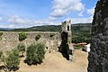Serravalle Pistoiese, rocca nuova (rocca di Castruccio), torre d'angolo nord 02.jpg