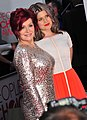 Sharon Osbourne and Kelly Osbourne at the 38th People's Choice Award (2).jpg