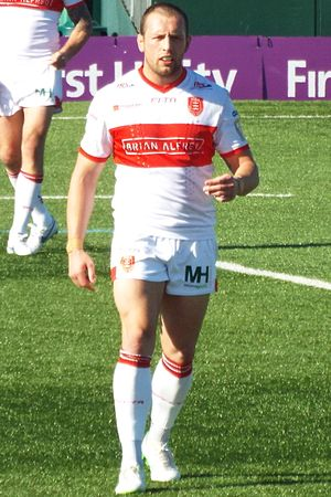 Shaun Lunt - Lunt playing for Hull KR