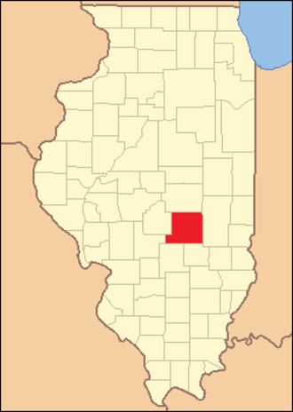 Shelby County, Illinois - Image: Shelby County Illinois 1839