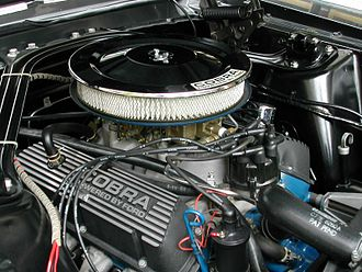 Ford Windsor engine - 289 K-code in a Shelby GT350
