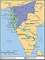 Shivaji's kingdom 1680.jpg