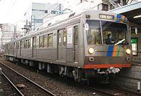 静岡鉄道 1000系にストライプ塗装を追加