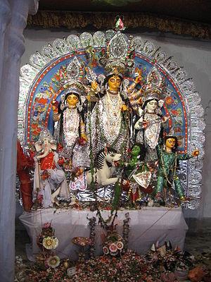 Shobhabazar - Shobhabazar Rajbari Durga Puja 2007