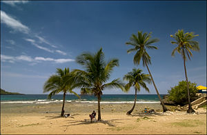 Siboney, Cuba - Siboney beach