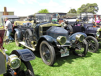 Siddeley-Deasy - Siddeley-Deasy 18-24hp; 1913 example sold new to G Fysh of Launceston Tasmania