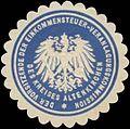 Siegelmarke Der Vorsitzende der Einkommensteuer-Veranlagungskommission W0328178.jpg
