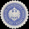 Siegelmarke Der kaiserliche Kreisdirektor des Kreises Erstein W0334791.jpg