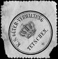 Siegelmarke Königlich Sächsische Güter - Verwaltung Tetschen W0205546.jpg