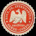 Siegelmarke Koeniglich Preussische Intendantur des IVten Armee - Corps W0224145.jpg