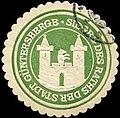 Siegelmarke Siegel des Raths der Stadt Güntersberge W0260488.jpg
