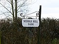 Sign, Middle Hill Farm, near Tockenham - geograph.org.uk - 1187593.jpg