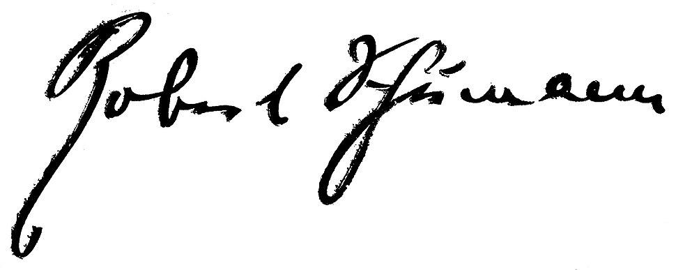 Signature Robert Schumann-2