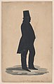 Silhouette of Mr. Pierce of Springwater, New York Met DP887323.jpg