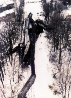 1996 Maryland train collision 1996 train crash in the United States