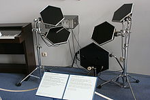 electronic drum wikipedia. Black Bedroom Furniture Sets. Home Design Ideas