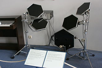 Electronic drum - Early Simmons SDS 5 Electronic Drums, ca. 1979.