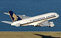Singapore Airlines Airbus A380 at Sydney Airport (cropped2).jpg
