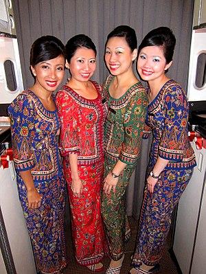 Women in Singapore - Singapore Airlines cabin crew