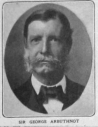 George Gough Arbuthnot - Sir George Arbuthnot