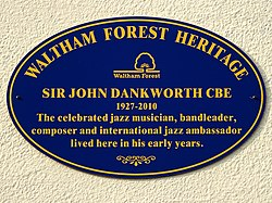Sir john dankworth cbe (waltham forest heritage)