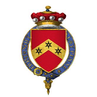 Reginald de Cobham, 1st Baron Cobham - Arms of Sir Reginald de Cobham, 1st Baron Cobham, KG