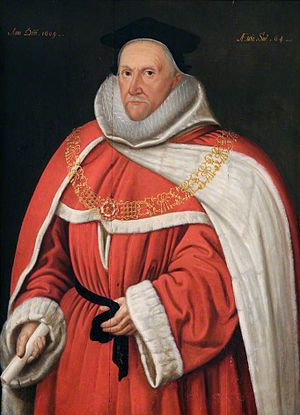 Thomas Fleming (judge) - Sir Thomas Fleming by Marcus Gheeraerts the Younger.