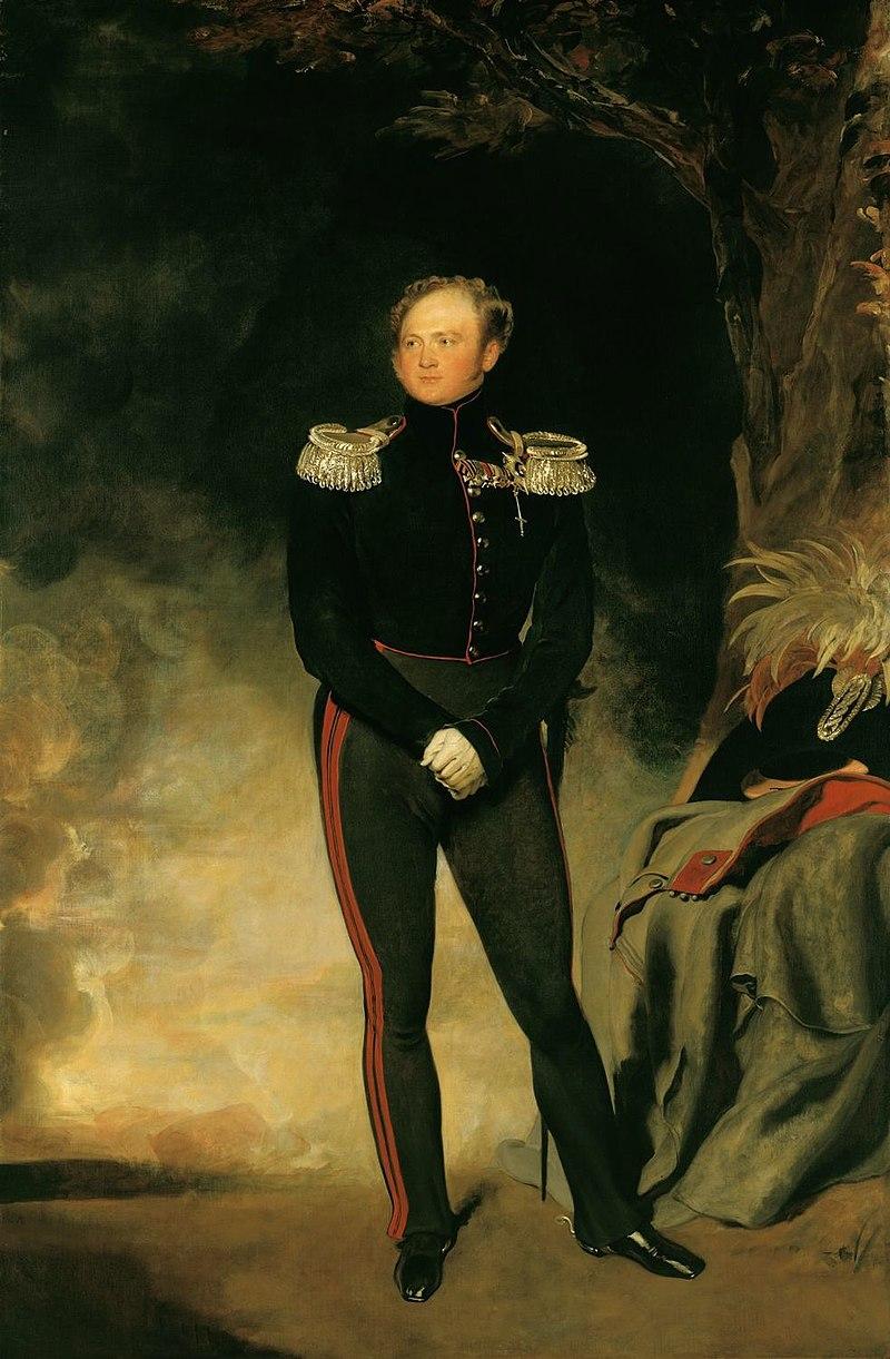 Сэр Томас Лоуренс (1769-1830) - Александр I, император России (1777-1825) - RCIN 404942 - Royal Collection.jpg