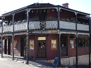 Sir William Wallace Hotel - Image: Sir William Wallace Hotel Balmain 1