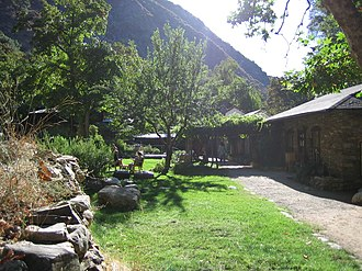 Santa Lucia Range - Tassajara Zen Mountain Center was built in the heart of the Santa Lucia range, in Monterey County.