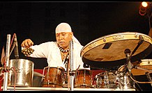 Sivamani from a programme performed at Kochi