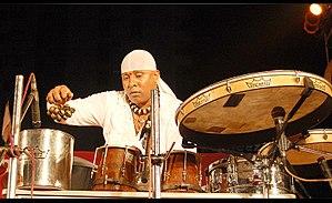 Sivamani - Sivamani performing at Kochi in 2009