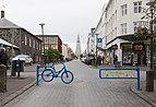 Skólavörðustígur and blue bike.jpg