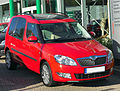 Skoda Roomster Facelift Comfort Plus Edition front-1 20101009.jpg