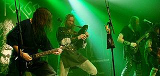 Skyforger latvian pagan metal band